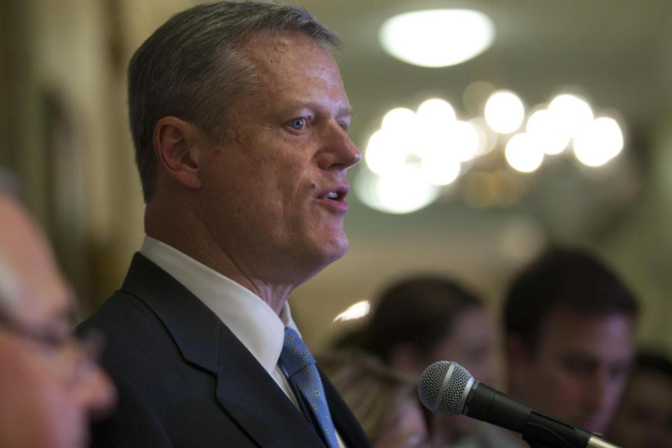 Governor Charlie Baker pledged to step up the state's efforts to fight the crisis.