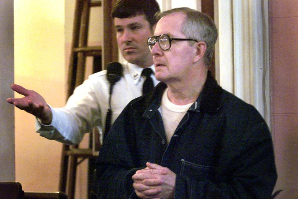 Ronald Paquin appeared in court in 2002.