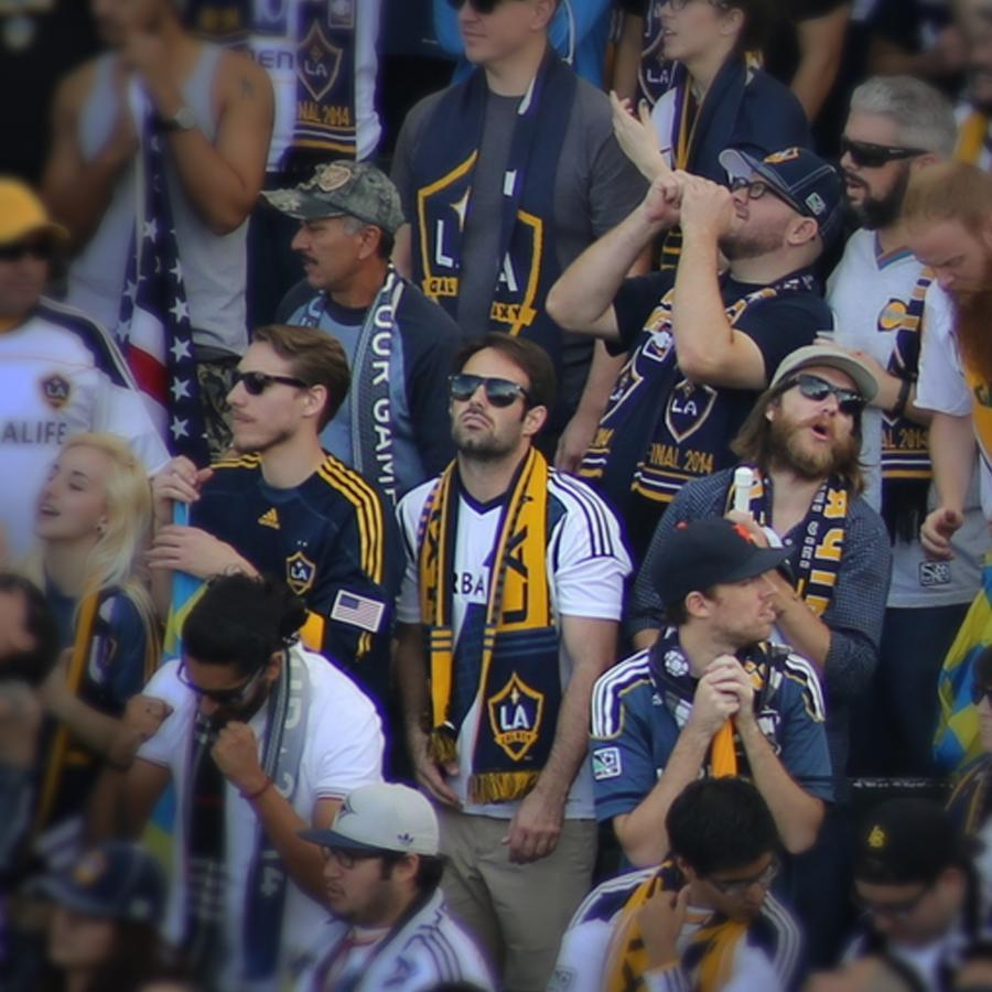 "06fanphotos - Excerpt from the game day story of Michael Conner - LA Galaxy vs New England Revolution - ""Tierney Goal: 79'ÑThe Galaxy crowd are silenced. A heavy blow to take late in the game."" (Fanpics)"