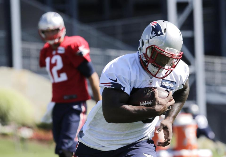 Jonas Gray has looked powerful and swift during training camp.