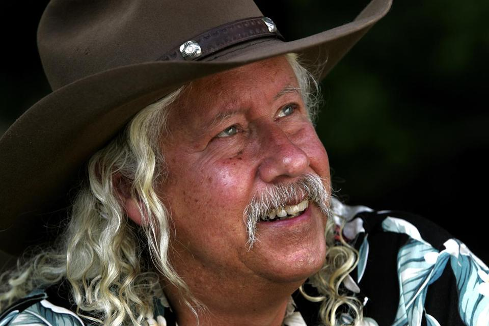 Arlo Guthrie in 2007 - Globe Photo