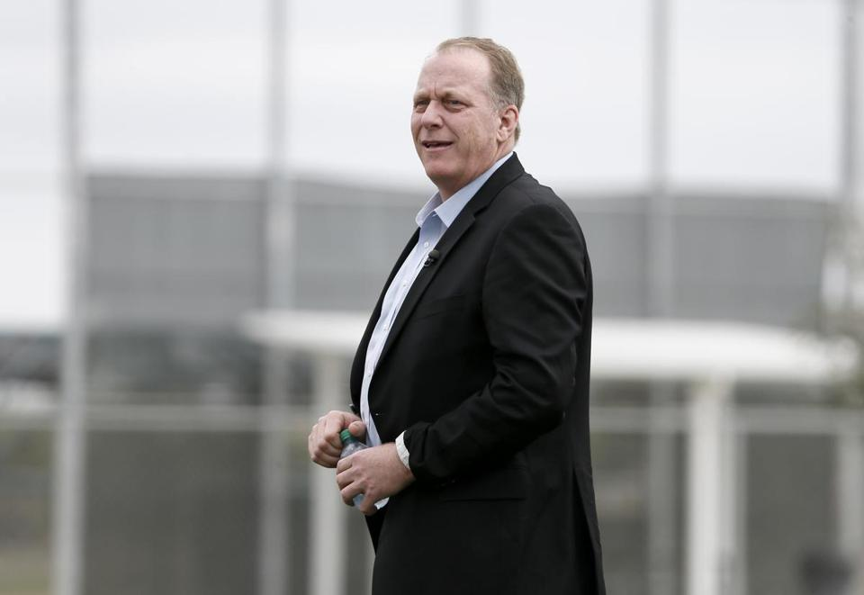 Curt Schilling, pictured in 2015.