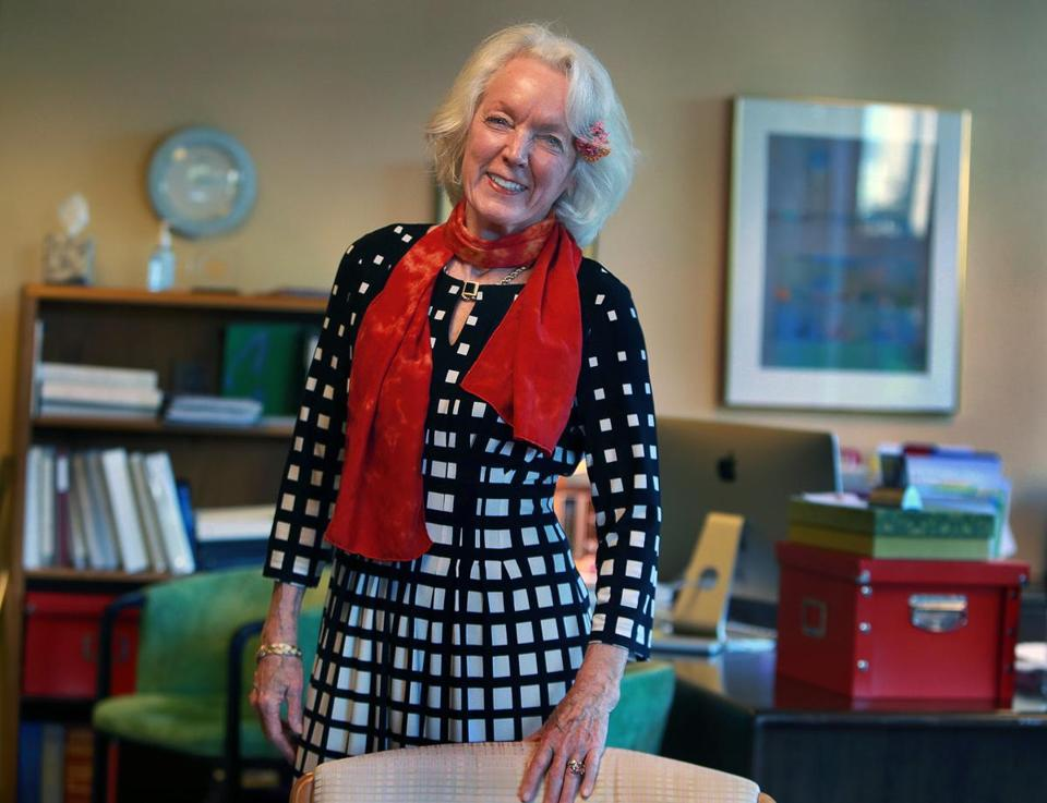 Dr. Tenley Albright, pictured in her office at MIT Collaborative Initiatives.