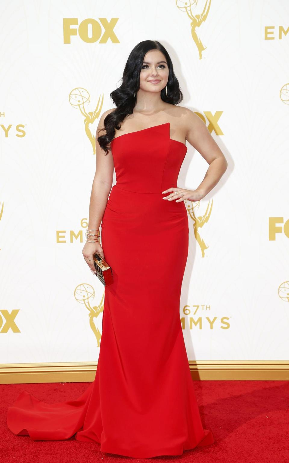 "Actress Ariel Winter from the comedy series ""Modern Family."""