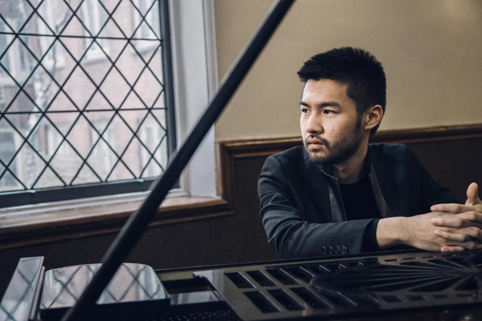 Pianist Conrad Tao made his concerto debut at age 8.
