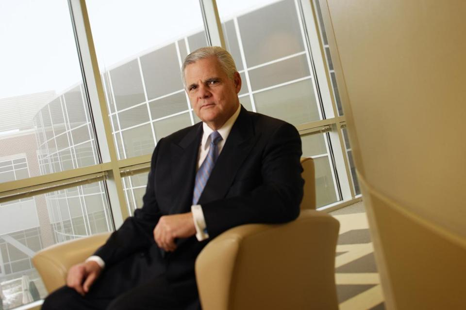Joseph Tucci has been EMC's chief executive since 2001 and its chairman since 2006.