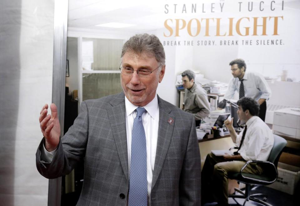 Marty Baron, former editor of The Boston Globe who now runs the newsroom at The Washington Post.