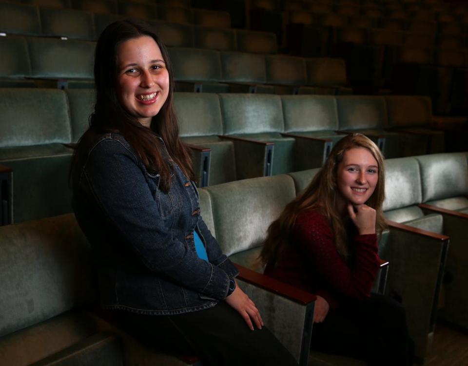 """I was extremely frustrated by the 'kids can't' mentality. [Founding a production company] took me past all my barriers and got me doing the things I wanted to,"" said Shay Martin (left) with Audrey Larson, directors of ""Drawing Inspiration."""