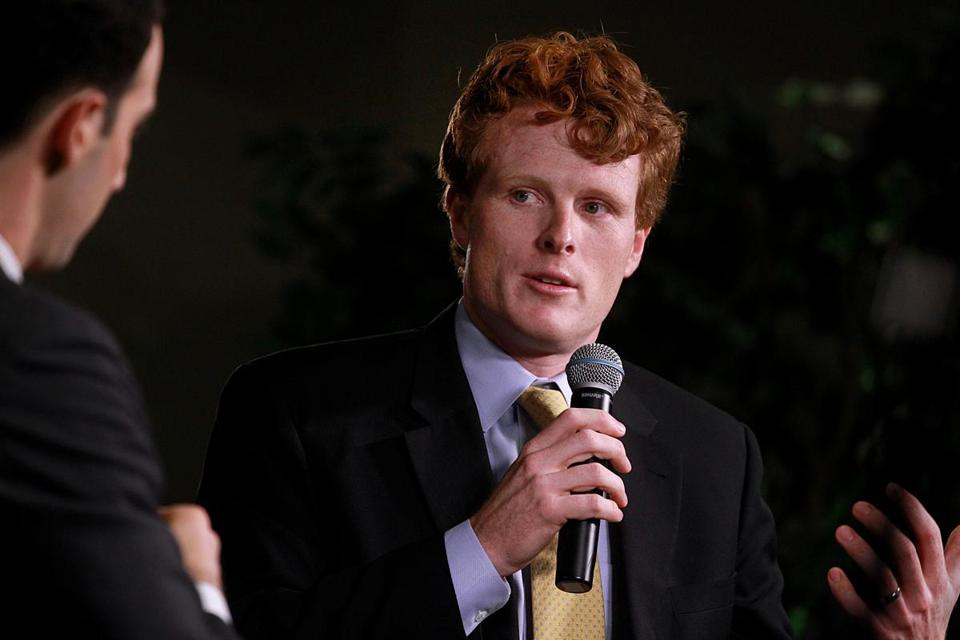 Joshua Miller interviewed Rep. Joe Kennedy III.