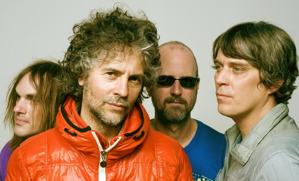 "The Flaming Lips celebrate the 20th anniversary of their album ""Clouds Taste Metallic"" with a deluxe reissue."