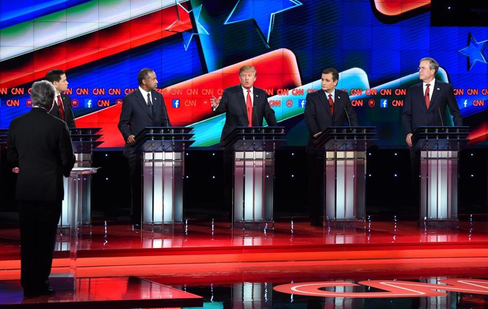 Republican presidential candidates participated in the fifth debate in Las Vegas.