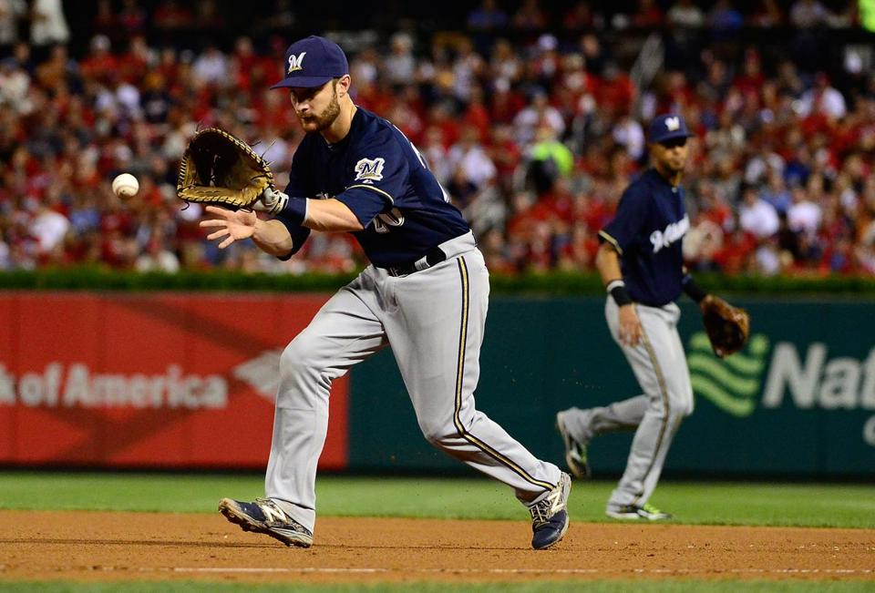 Jonathan Lucroy has two years remaining on his contract at team-friendly salaries.
