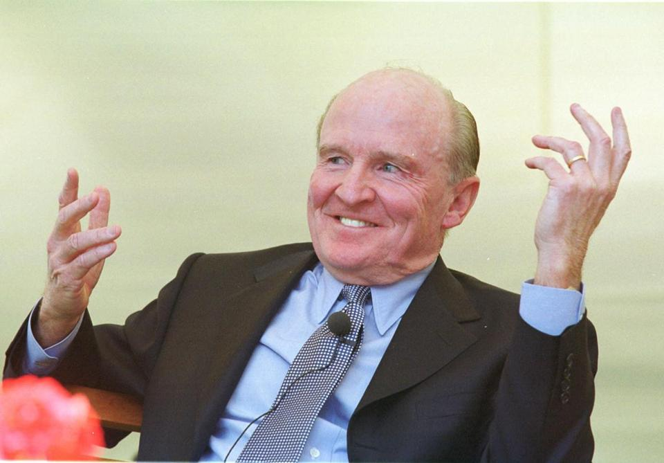 General Electric Co. chief executive Jack Welch was seen in 2001.