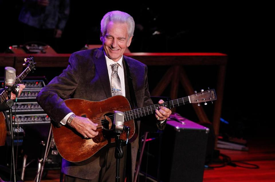 Bluegrass ace Del McCoury.