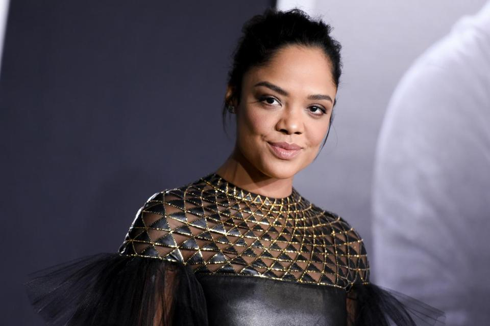 "Actress Tessa Thompson at the LA Premiere of ""Creed"" on Nov. 19."