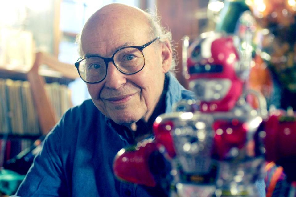 Marvin Minsky, photographed at his Brookline home on Dec. 4, 2006.