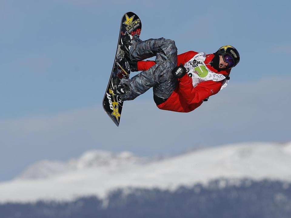 """When I'm in the air, I'm thinking about making sure that my style is on point and I'm executing my tricks correctly,"" says veteran snowboarder Chas Guldemond."