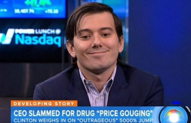 Supervillain Martin Shkreli Sentenced to 7 Years in Prison, Weeps in Court