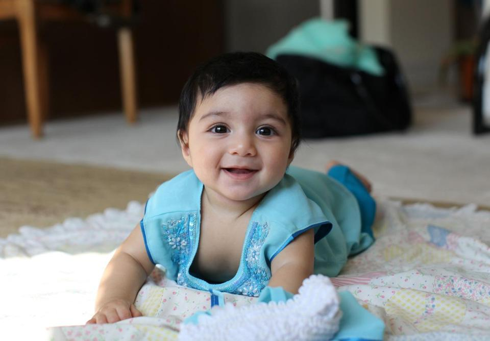 Rehma Sabir, 1, ​of Cambridge ​died in 2013 after sudden catastrophic brain swelling and bleeding. Her parents have filed a wrongful death lawsuit against her nanny.