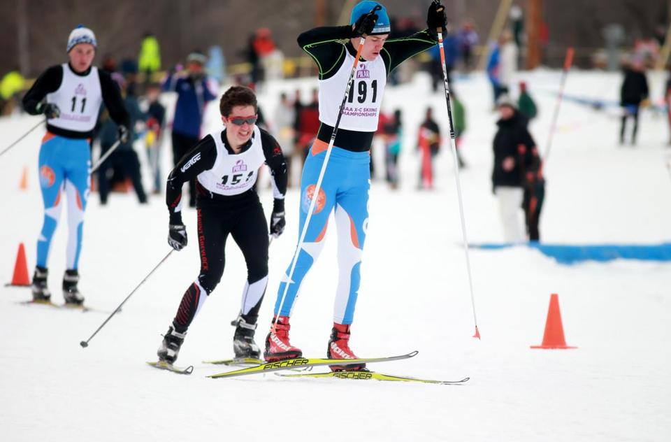 Will Rhatigan won this year's nordic skiing title.