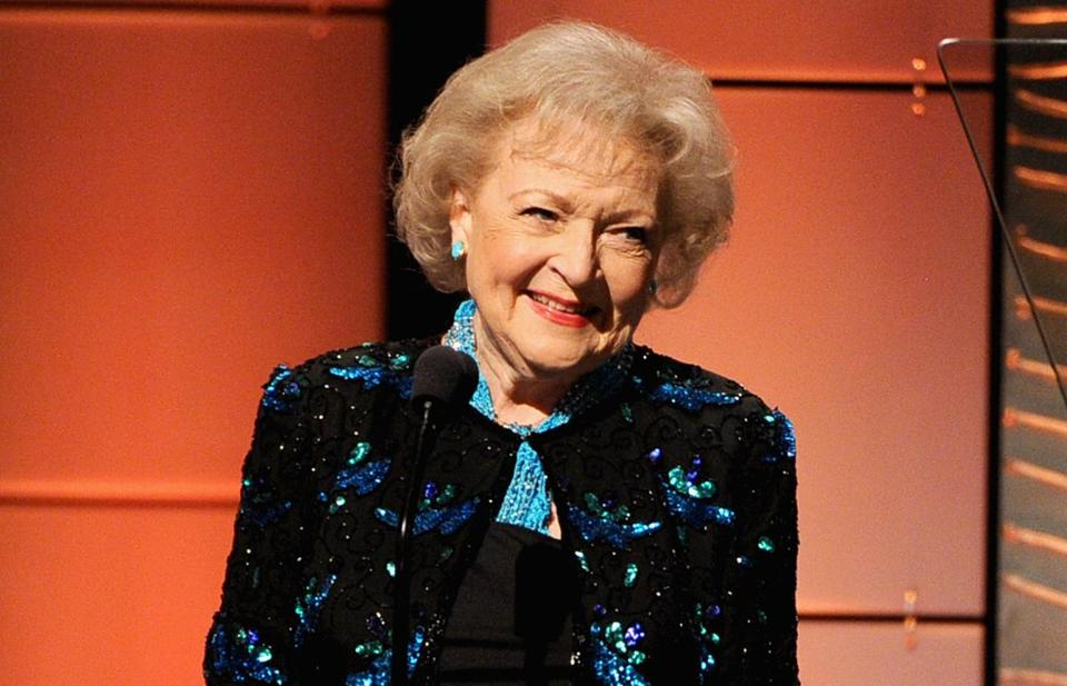 Betty White in 2013.