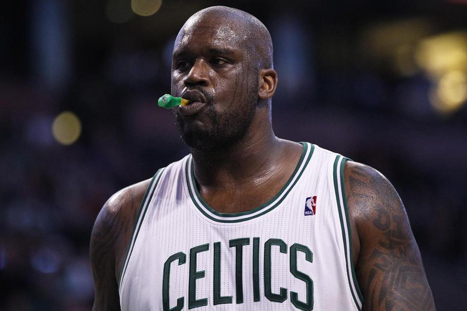 Shaquille O'Neal believes Earth is flat.