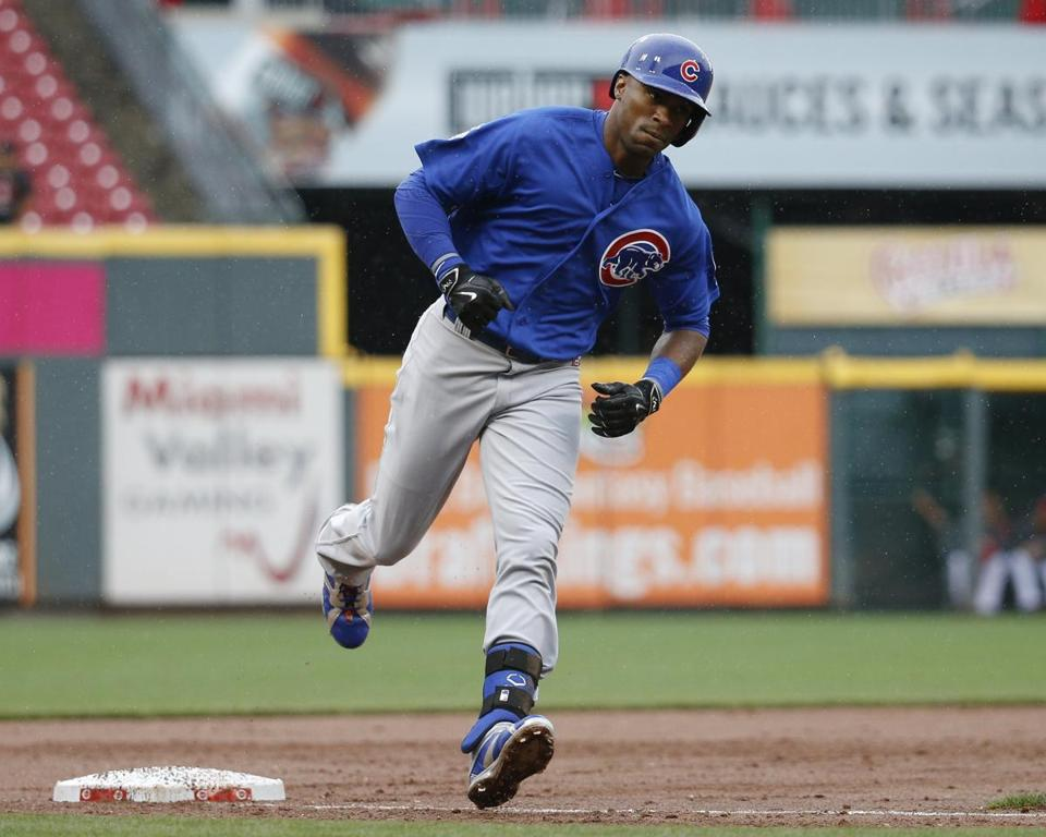Austin Jackson batted .236 in 29 games with the Cubs last season.