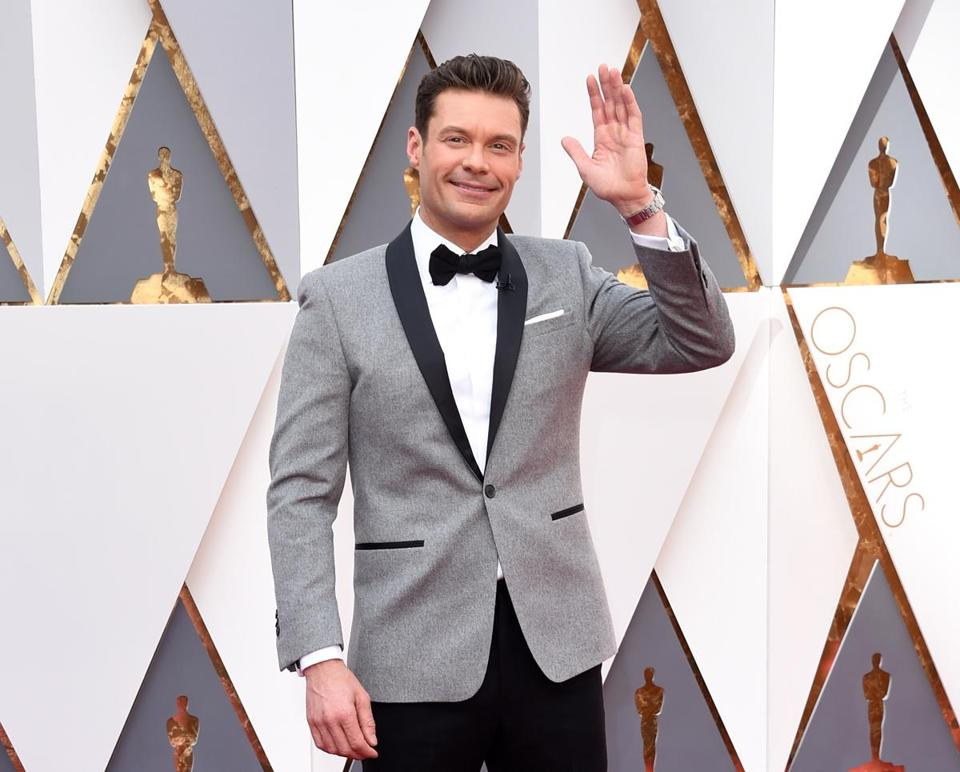 TV personality Ryan Seacrest.