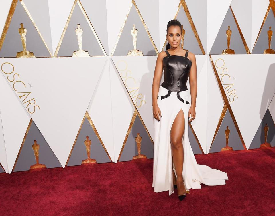 Kerry Washington attended the 88th Annual Academy Awards.