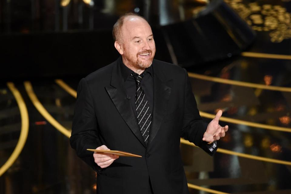 Louis C.K. at the Oscars.