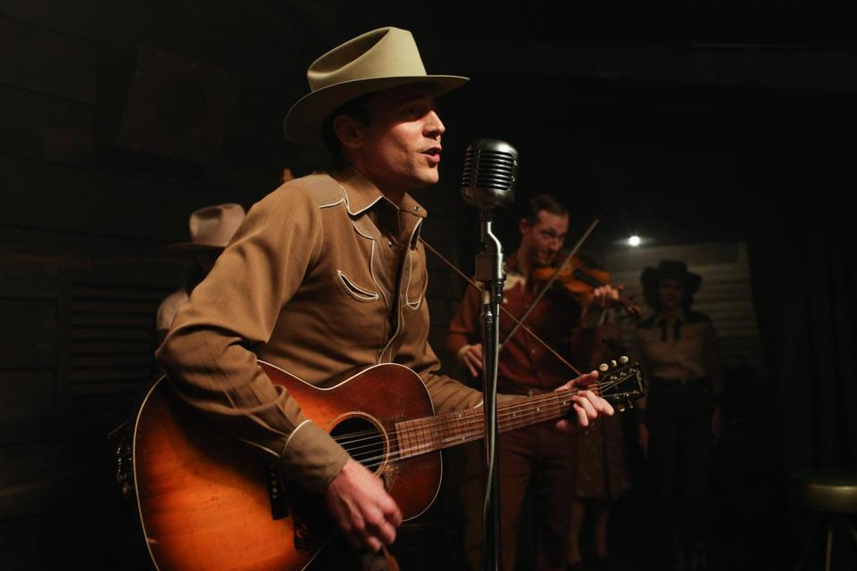 Tom Hiddleston as Hank Williams.