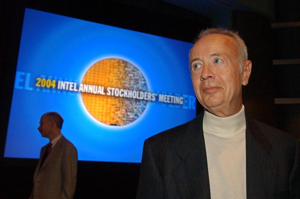Intel Corp. founder Andy Grove in 2004.