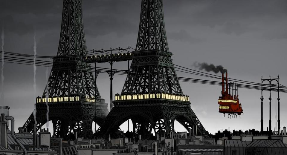 """April and the Extraordinary World"" translates the comics and graphic novels of France's Jacques Tardi to the big screen."