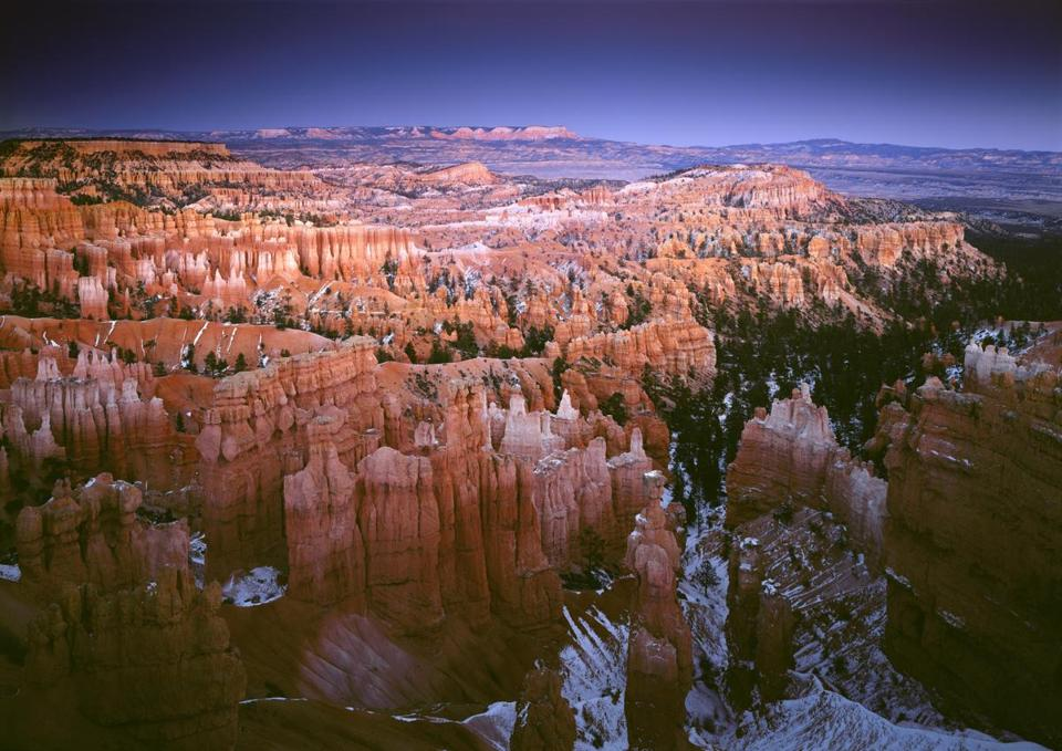"A photograph by QT Luong from the Museum of Science exhibit ""Treasured Lands: The US National Parks in Focus."""