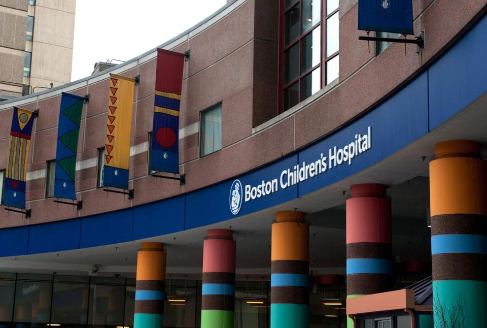 17hospital - Entrance to Boston Children's Hospital. (Boston Children's Hospital)