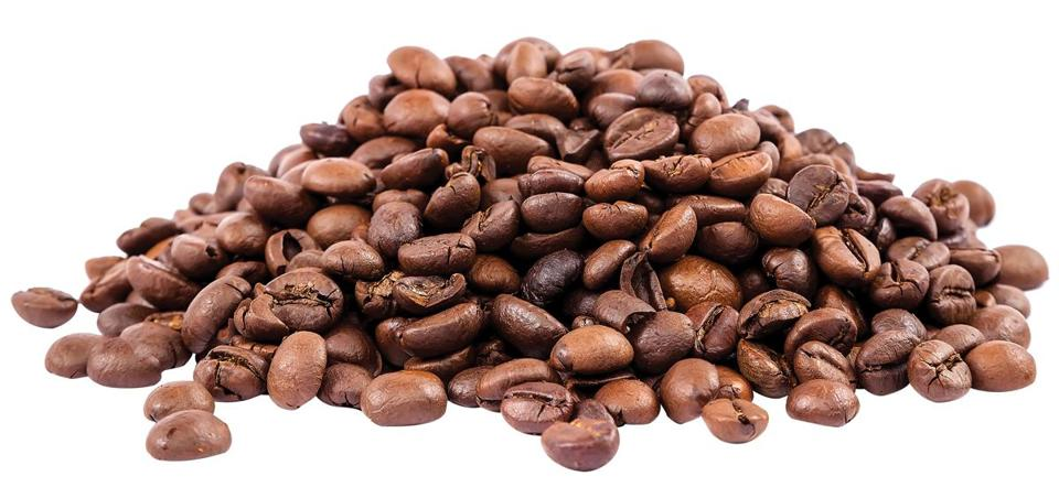 Coffee beans isolated on white background.; Shutterstock ID 322771613; PO: Examiner, Globe Mag 0424
