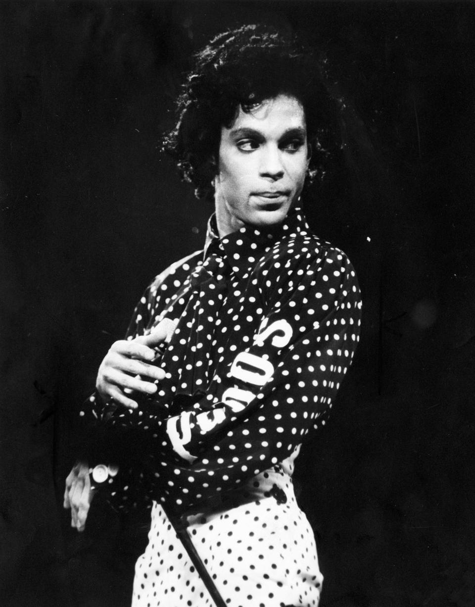 Prince at the Worcester Centrum on Oct. 20, 1988.