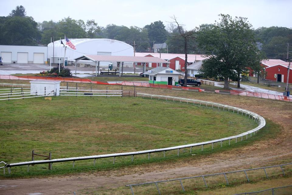 The proposed casino would sit on the site of the Brockton Fairgrounds.