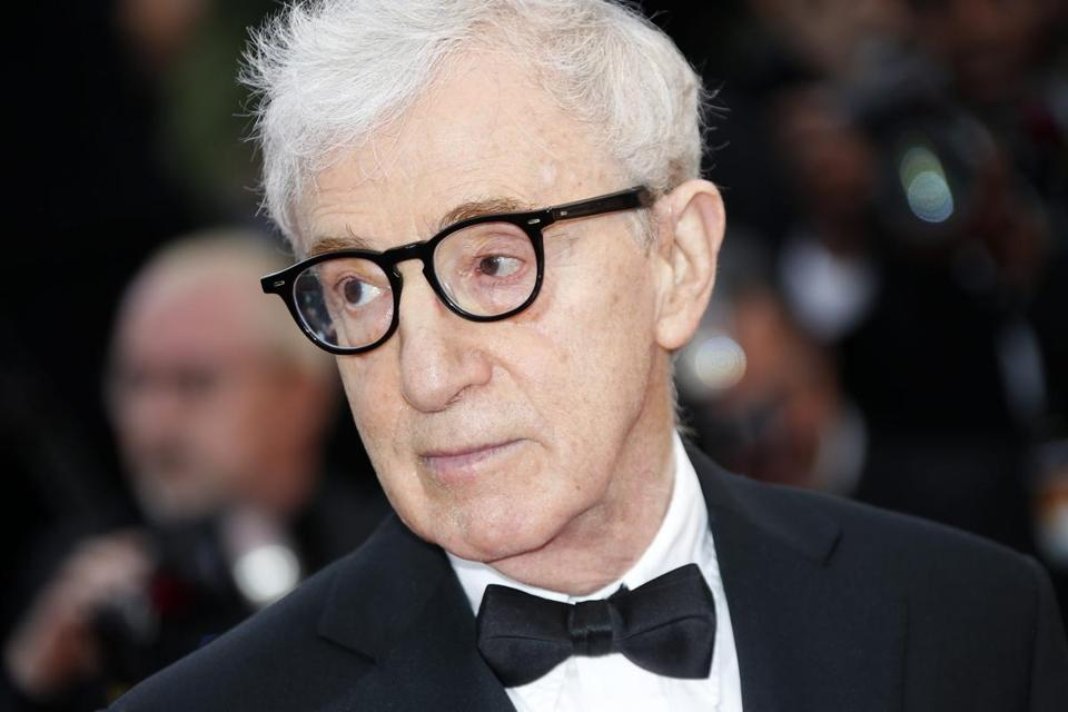 Woody Allen, shown at the Cannes Film Festival in 2016, has a new film in theaters on Dec. 1.