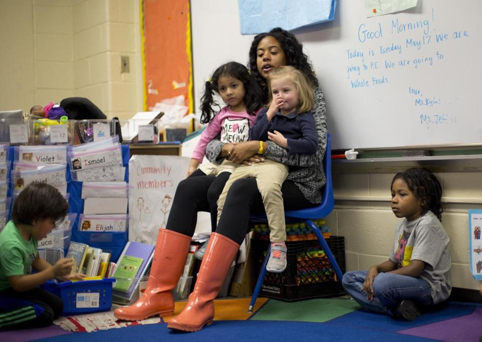 The report says disparities persist in how the country educates its poor and minority children.