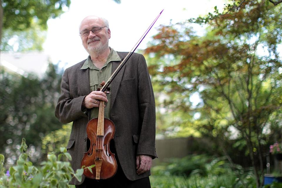 """Boston audiences are very loyal and very educated,'' says violinist Daniel Stepner."