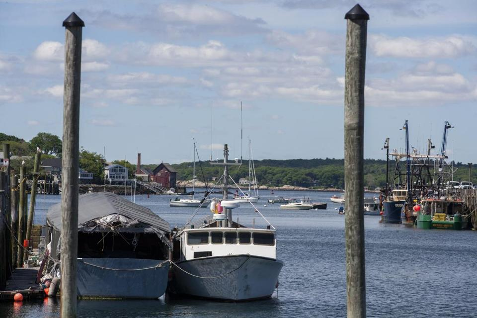 Friday, June 10, 2016- Waterfront in Gloucester. For Business story about Gloucester's transformation from fishing town to tourism and biotech. (Laurie Swope for The Boston Globe)