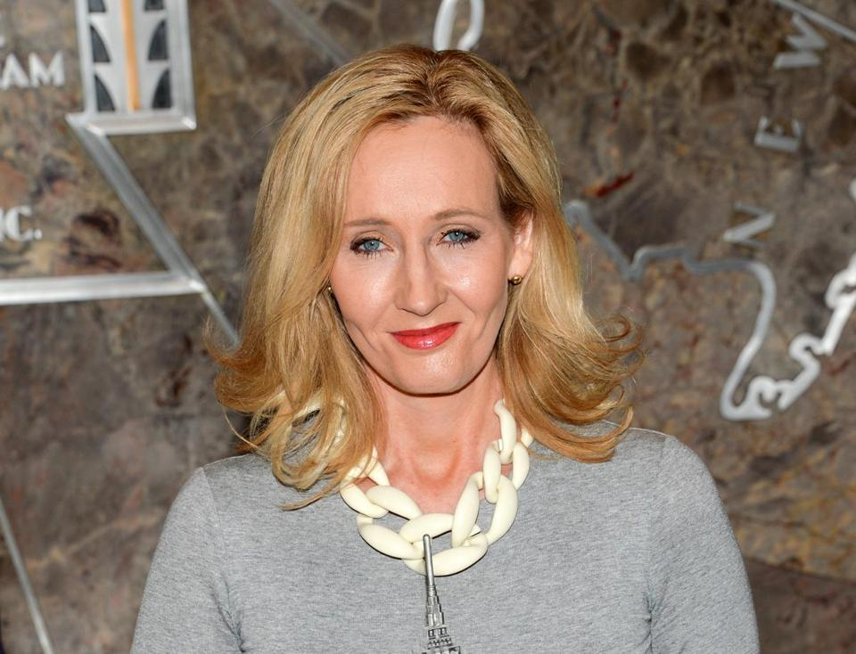 """Harry Potter"" author J.K. Rowling."