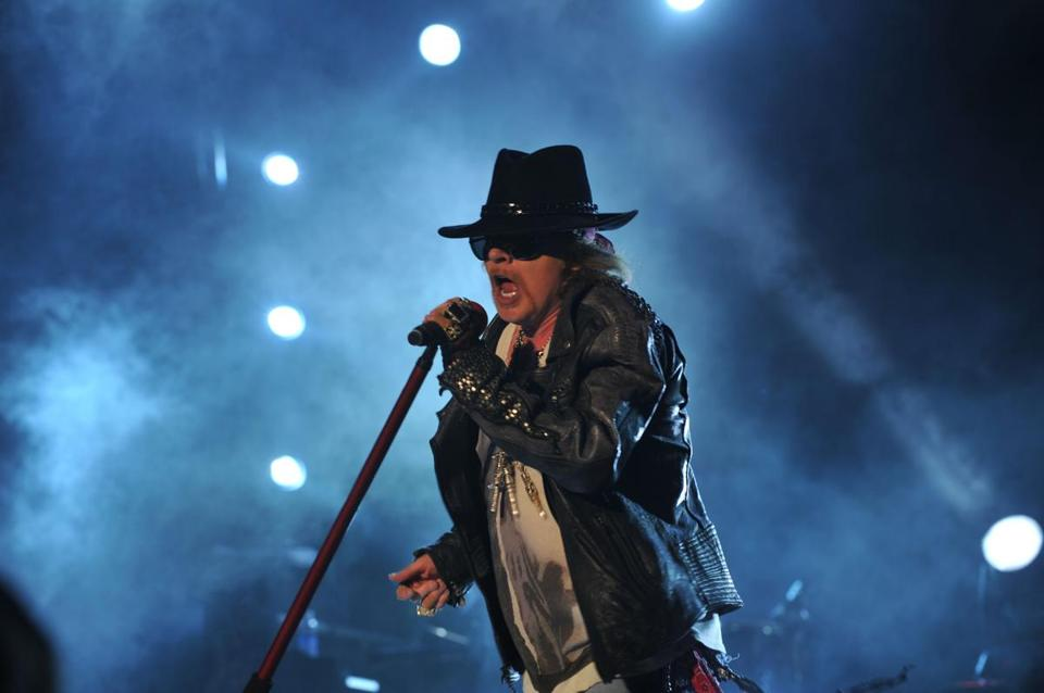 Axl Rose performed in 2012.