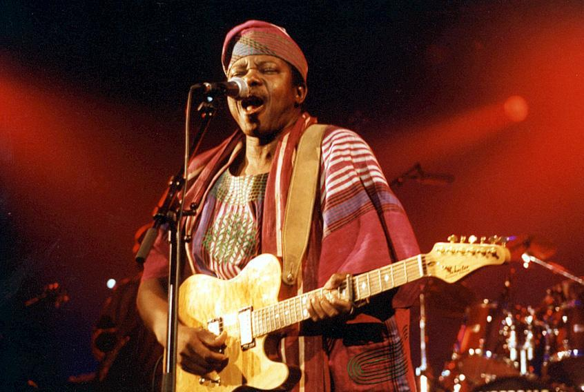 King Sunny Ade plays the Lowell Folk Festival.
