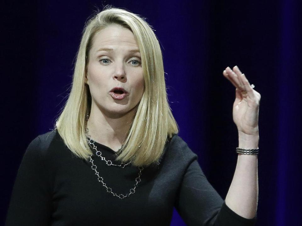 Yahoo President and CEO Marissa Mayer in 2015.