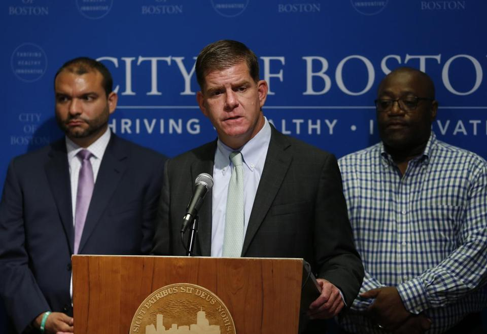 Mayor Martin J. Walsh.
