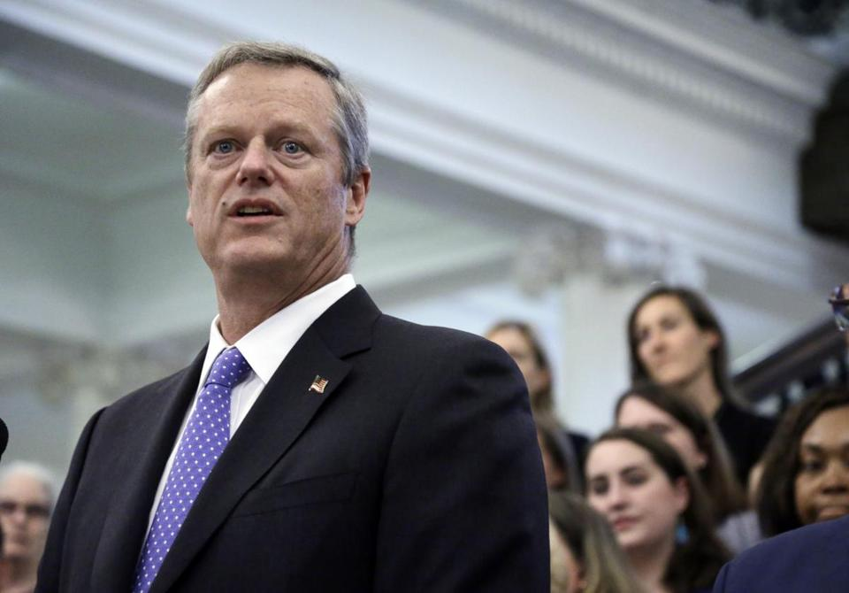 Massachusetts Governor Charlie Baker has until the middle of next week to take action on the legislation.