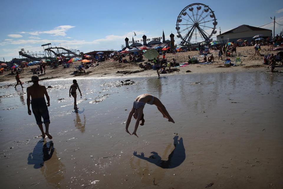 Family fun and nostalgia on New England's beaches
