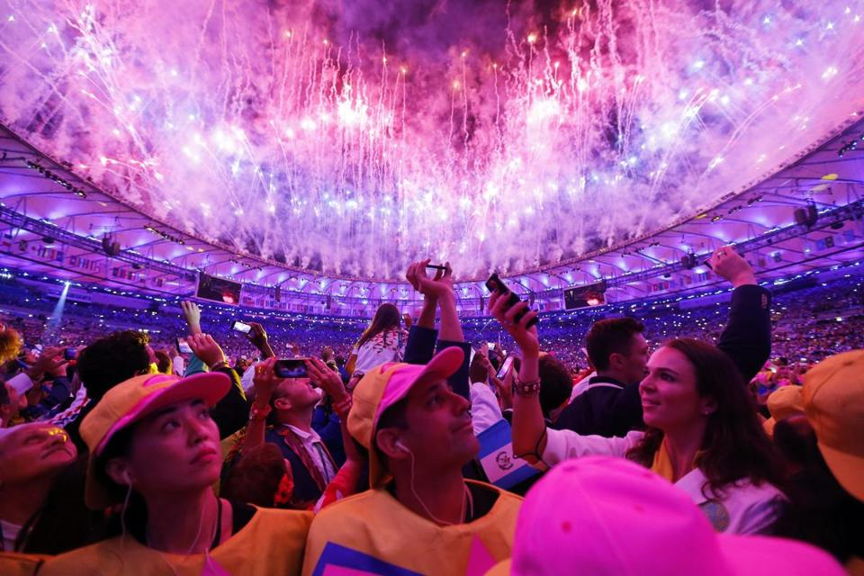 Rio Olympic Games Opening Ceremonies